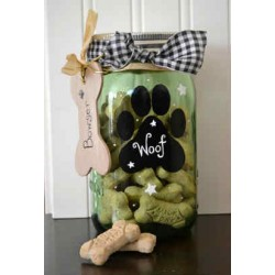 Vintage  Style Treat Jar