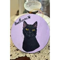 Round Paper Mache Ornament