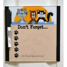 Don't Forget ... Dry Erase Board