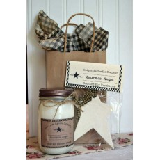 16 oz Jelly Jar Candle & Air Freshener Gift Set