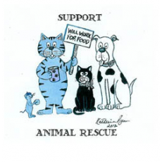 Support Animal Rescue Tee