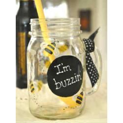 I'm Buzzin' Mason Jar Mug